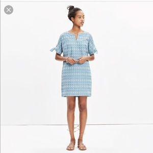 Madewell embroidery dress